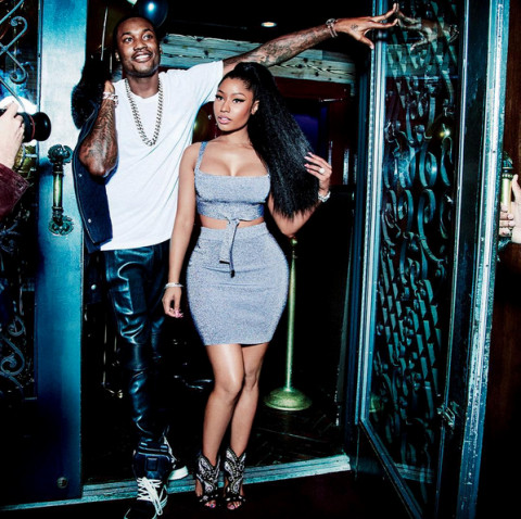 Nicki and Meek GQ