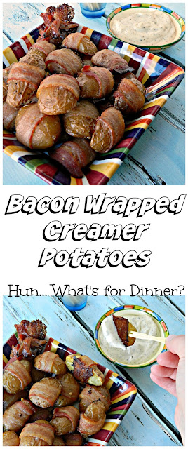 Bacon Wrapped Creamer Potatoes- The Little Potato Company Cooking with Little Chefs