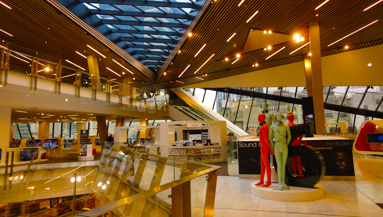 MAP: MYER MELBOURNE RENOVATED STORE