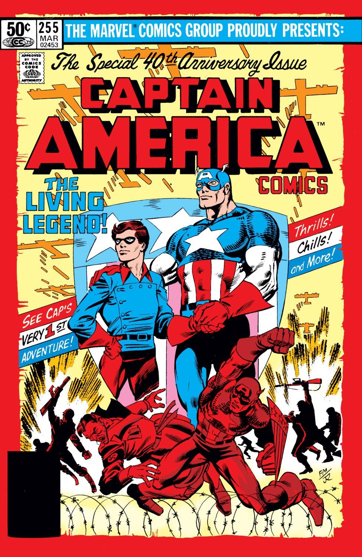 Captain America (1968) Issue #255 #170 - English 1