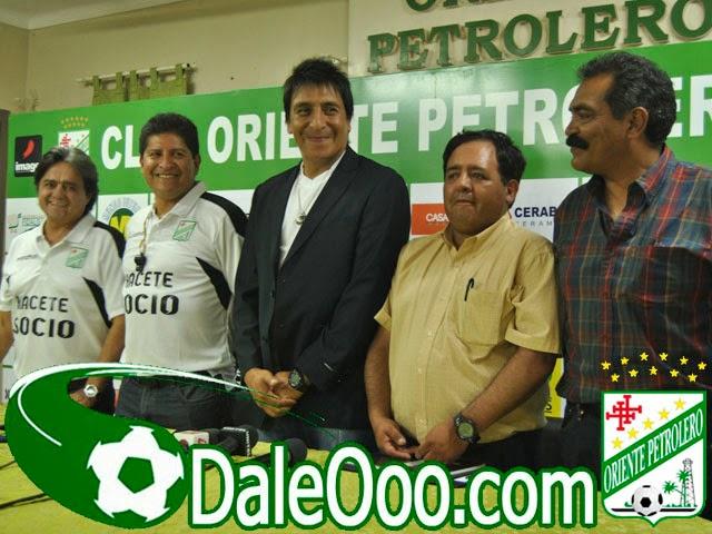 Oriente Petrolero - Cuerpo Técnico - DaleOoo.com web del Club Oriente Petrolero