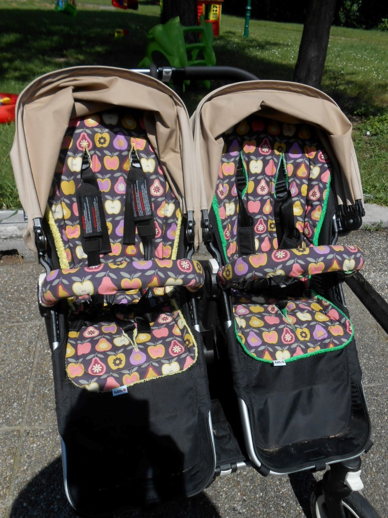 nähen und häkeln by KeDiYa: Tutorial - Kinderwagensitzauflage