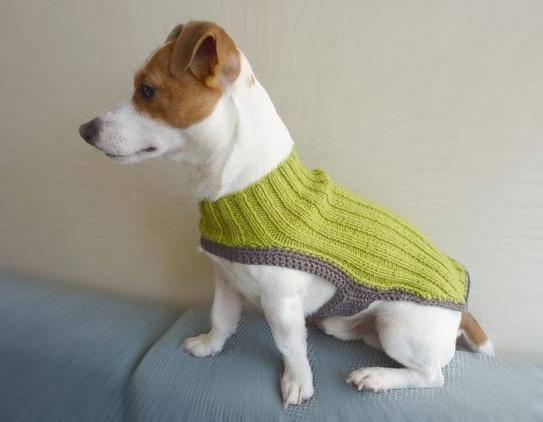 TRICO y CROCHET-madona-mía: Como hacer ropa para perros a crochet ...