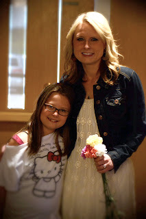 Mother and daughter portrait taken during Mother's Day