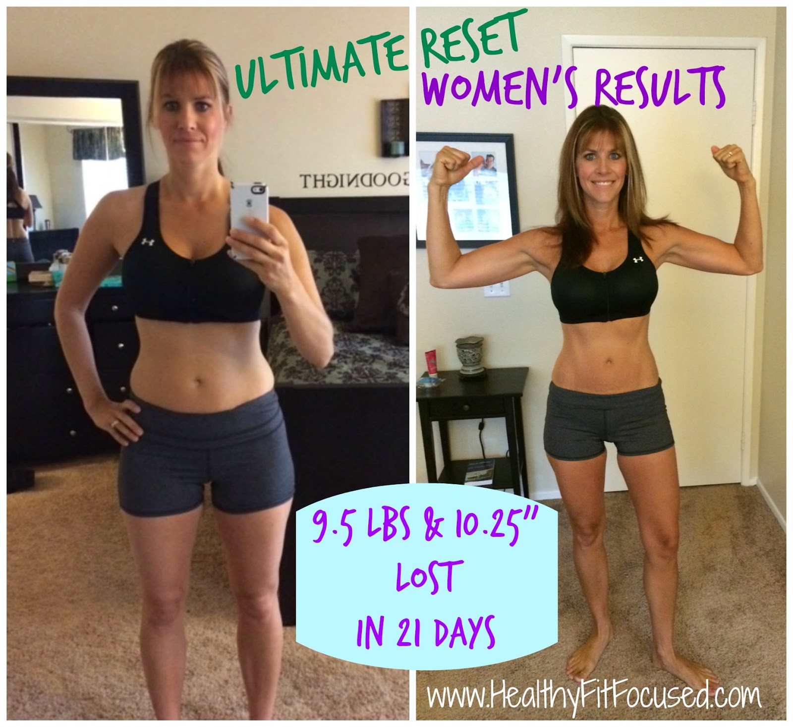Ultimate Reset Women's Results