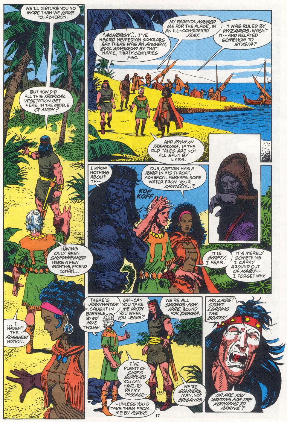 Conan the Barbarian (1970) Issue #270 #282 - English 13