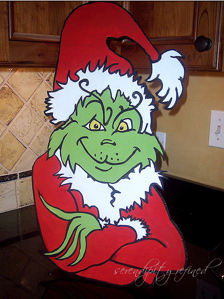Grinch outdoor christmas decorations - Planning