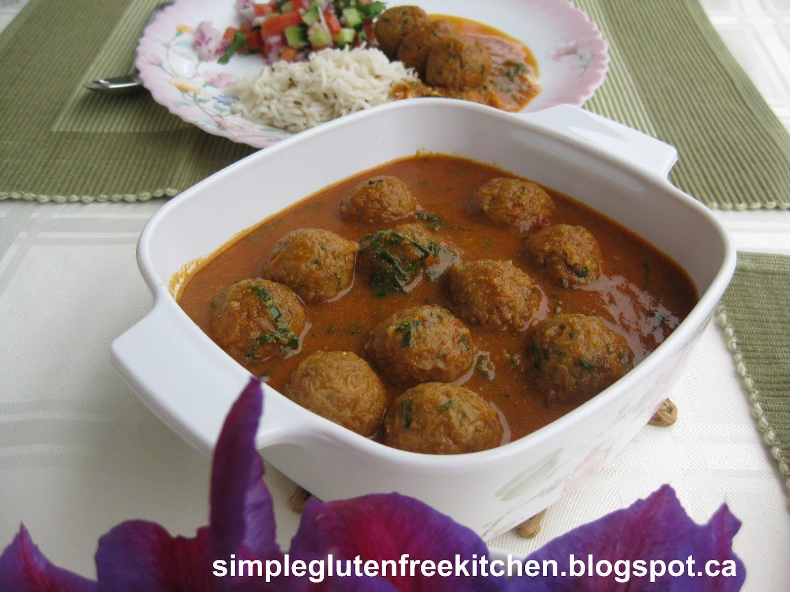 Lotus Root Kofta Curry Weekend Brunch Simple Gluten Free Kitchen