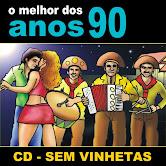 1 Hora sem Parar com o melhor do forro dos anos 90 CD-Sem Vinhetas
