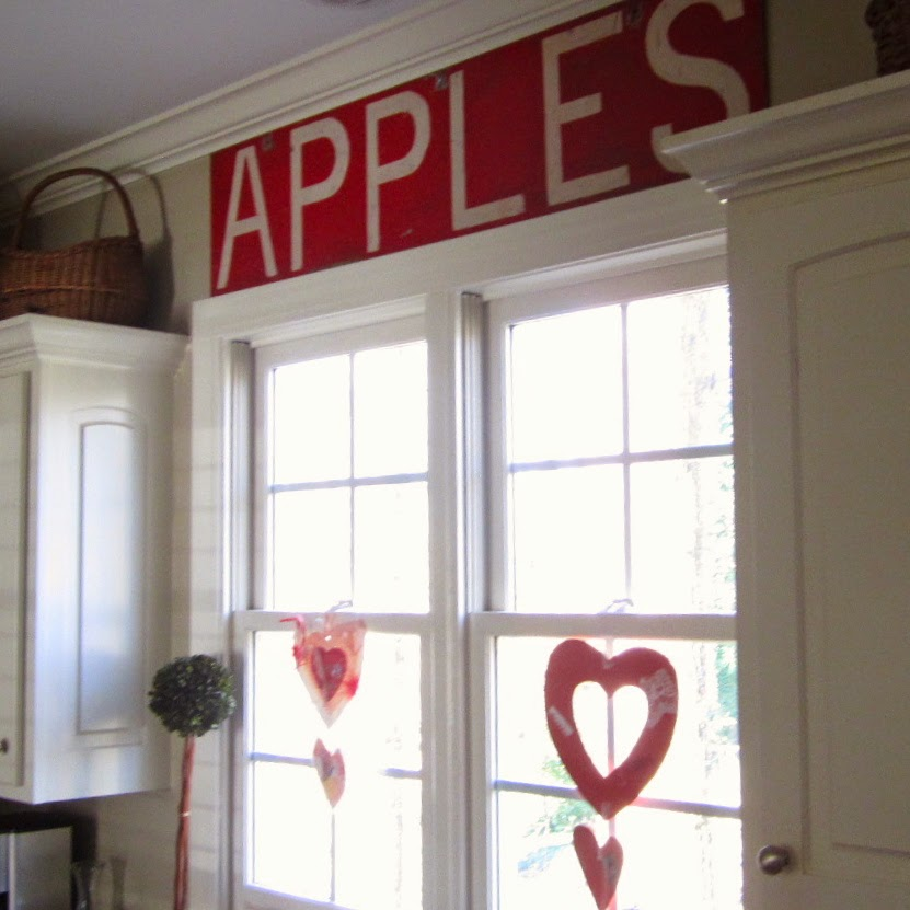 vintage apple sign
