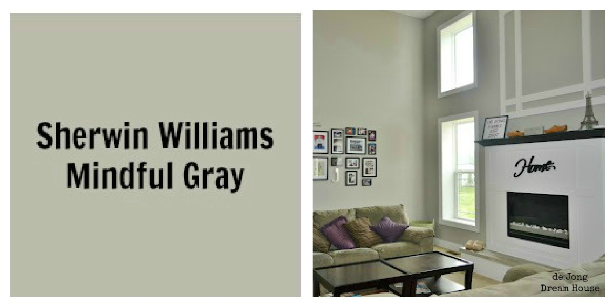 Most Popular Green Gray Paint Colors Selection Homes
