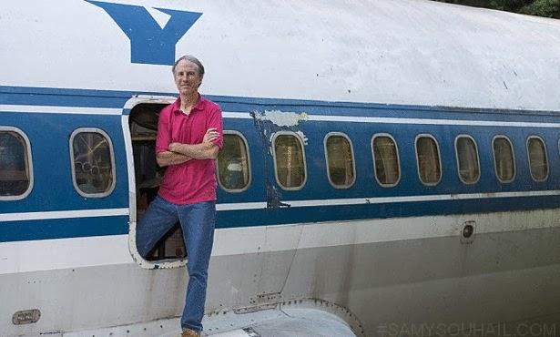 بالصور: مهندس يشتري بوينج 727 قديمة بمبلغ 100 ألف دولار، ويحولّها إلى منزل !