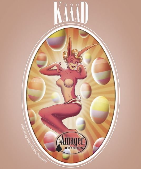 Amager Bryghus Kaaad IPA label design