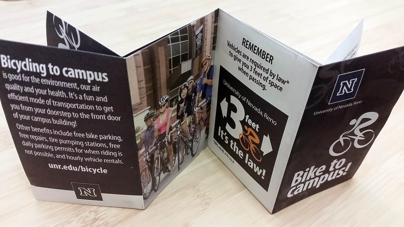Bicycling to Campus Brochure