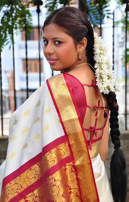 Sunakshi Hot in Silk Saree Latest Photos