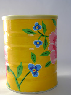 reciclagem lata pintura