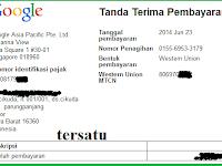 Gajian Google Adsense Bulan Juni 2014 Tembus 2 Akun