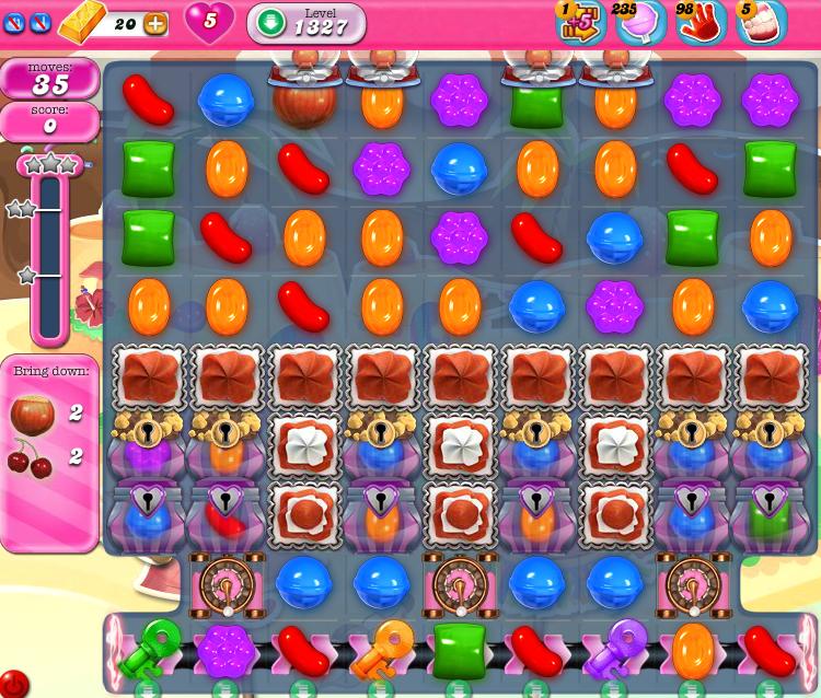 Candy Crush Saga 1327