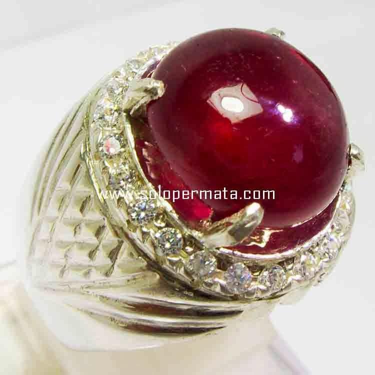 Batu Permata Ruby Pigeon Blood- 21B08