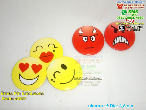 Bross Pin Emoticons