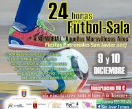 Fútbol Sala 24 h. Fiestas Patronales