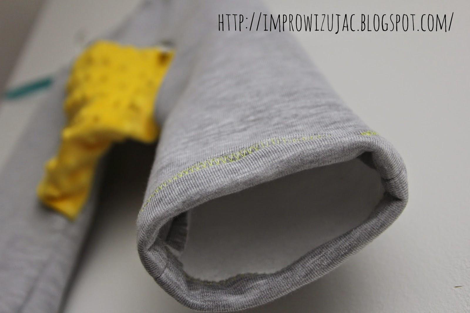 jak zrobić nogawki w spodniach