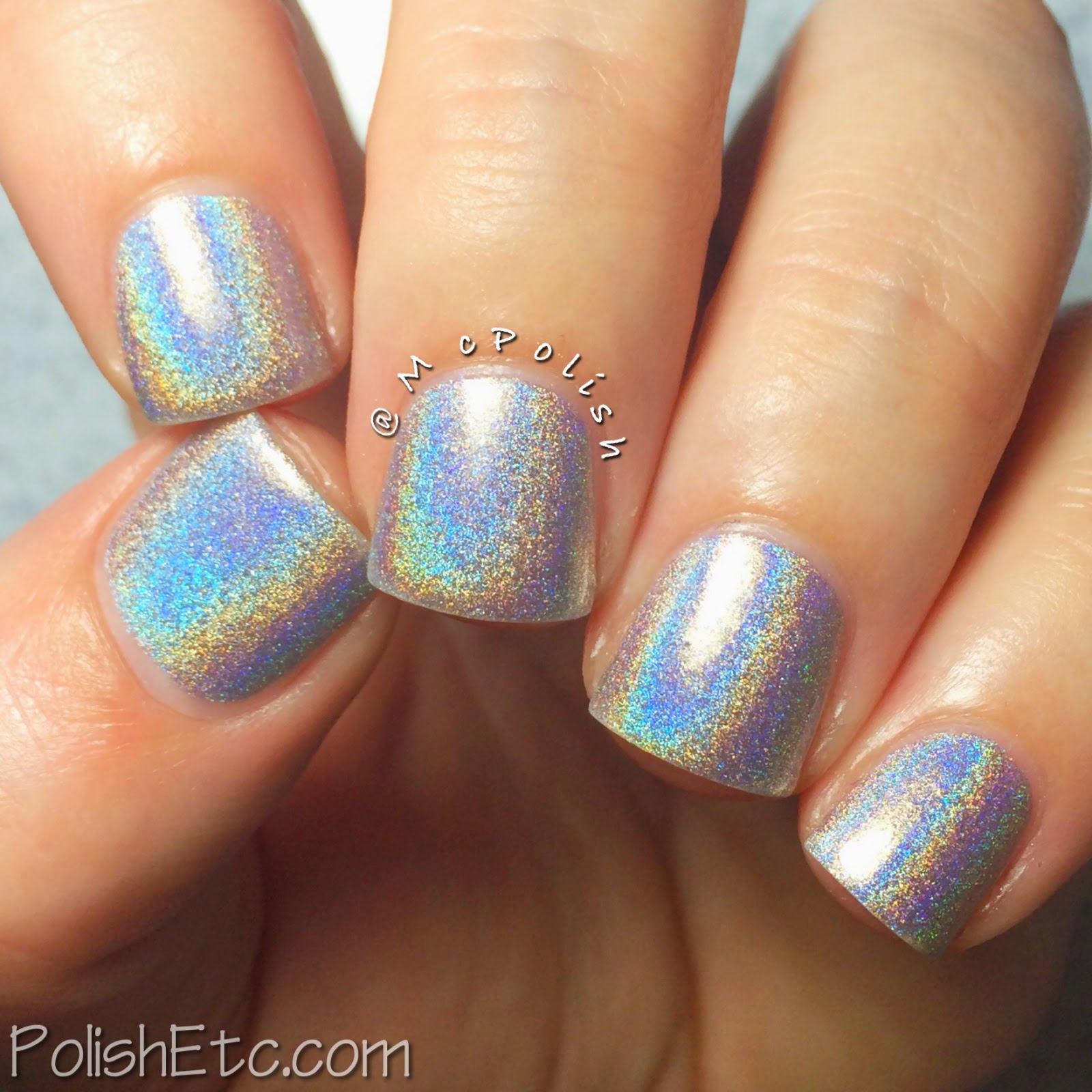 Digital Nails - Wow (swatched by McPolish)