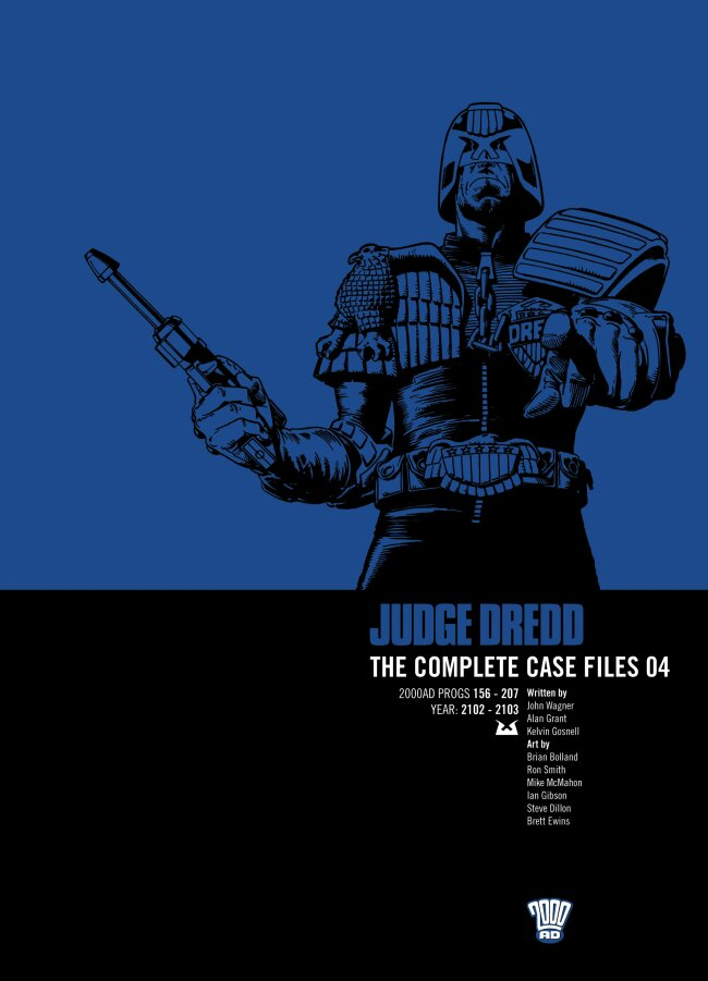 Judge Dredd: The Complete Case Files issue 4 - Page 1