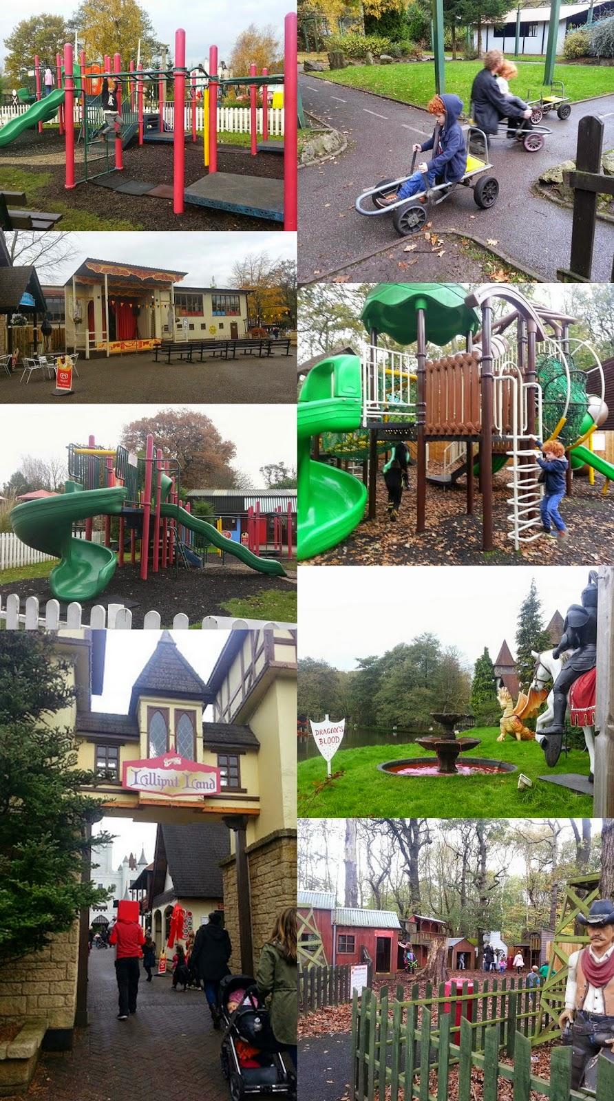 Gulliver's World Children's theme parkLilliput land play areas and amusements