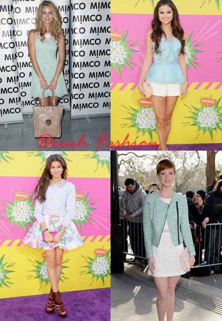 Trend Baju Warna Pastel 2013