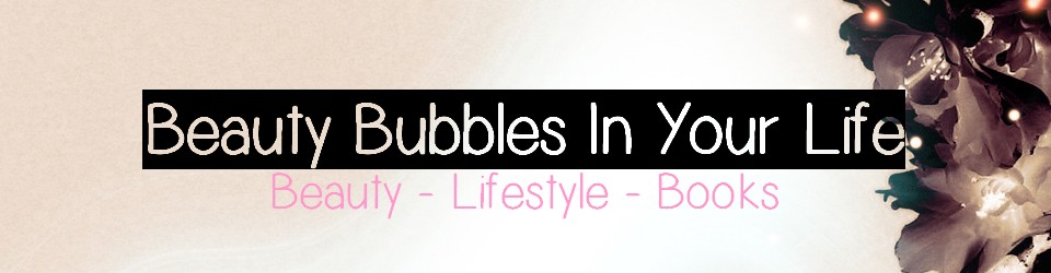Beauty bubbles in your life