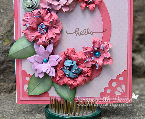 Scraps of life flower card flower card thecheapjerseys Images