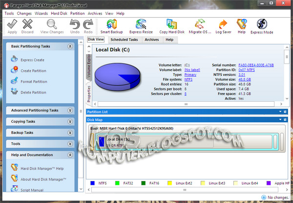 paragon hdd manager portable