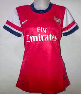 Arsenal Jersey Home Wanita