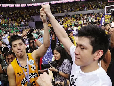 Jeron and Jeric Teng DLSU vs. UST