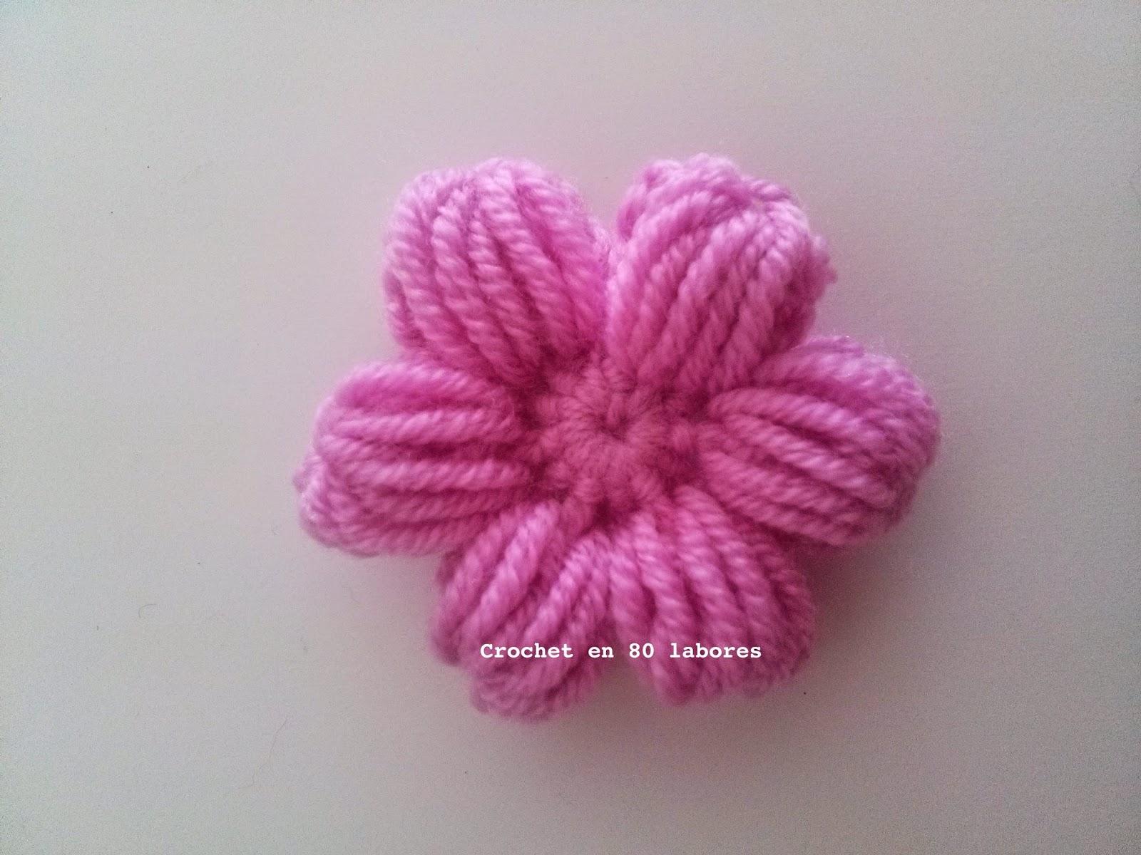 Crochet en 80 labores v deotutorial para tejer una flor for Alfombra en ingles como se escribe