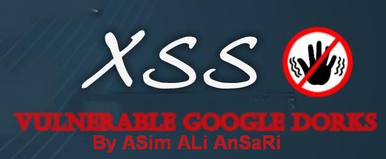 XSS Google Dorks 2015