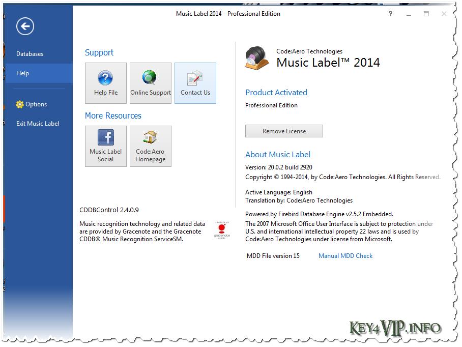 Music Label 2014 Professional 20.0.2 Build 2920 Full,Phần mềm quản lý kho nhạc của bạn