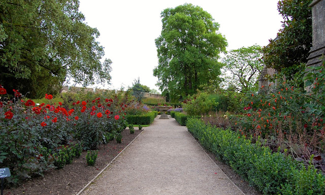 Formal gardens at palace