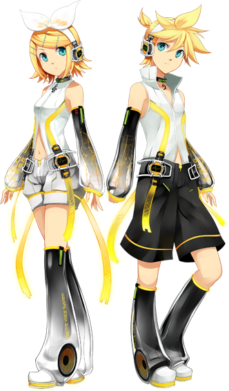 Icha's diary: Who is Rin and Len Kagamine