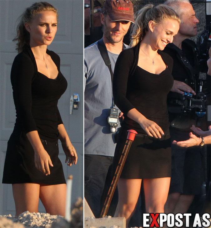 Natalie Portman: Set de filmagens do próximo longa de Terrence Malick em Austin - 03 de Outubro de 2012