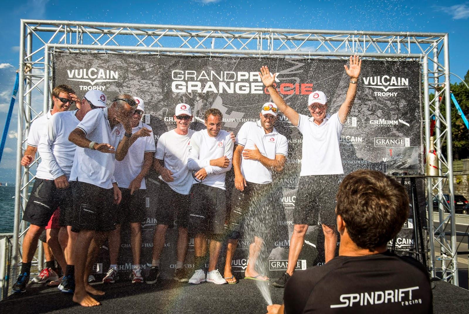 Ernesto Bertarelli et Alinghi remportent le Vulcain Trophy !