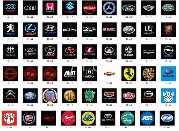 Car Company Logo