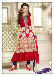 Hansika Motwani Picture Shoot Gallery in Latest Design Salwar Kameez