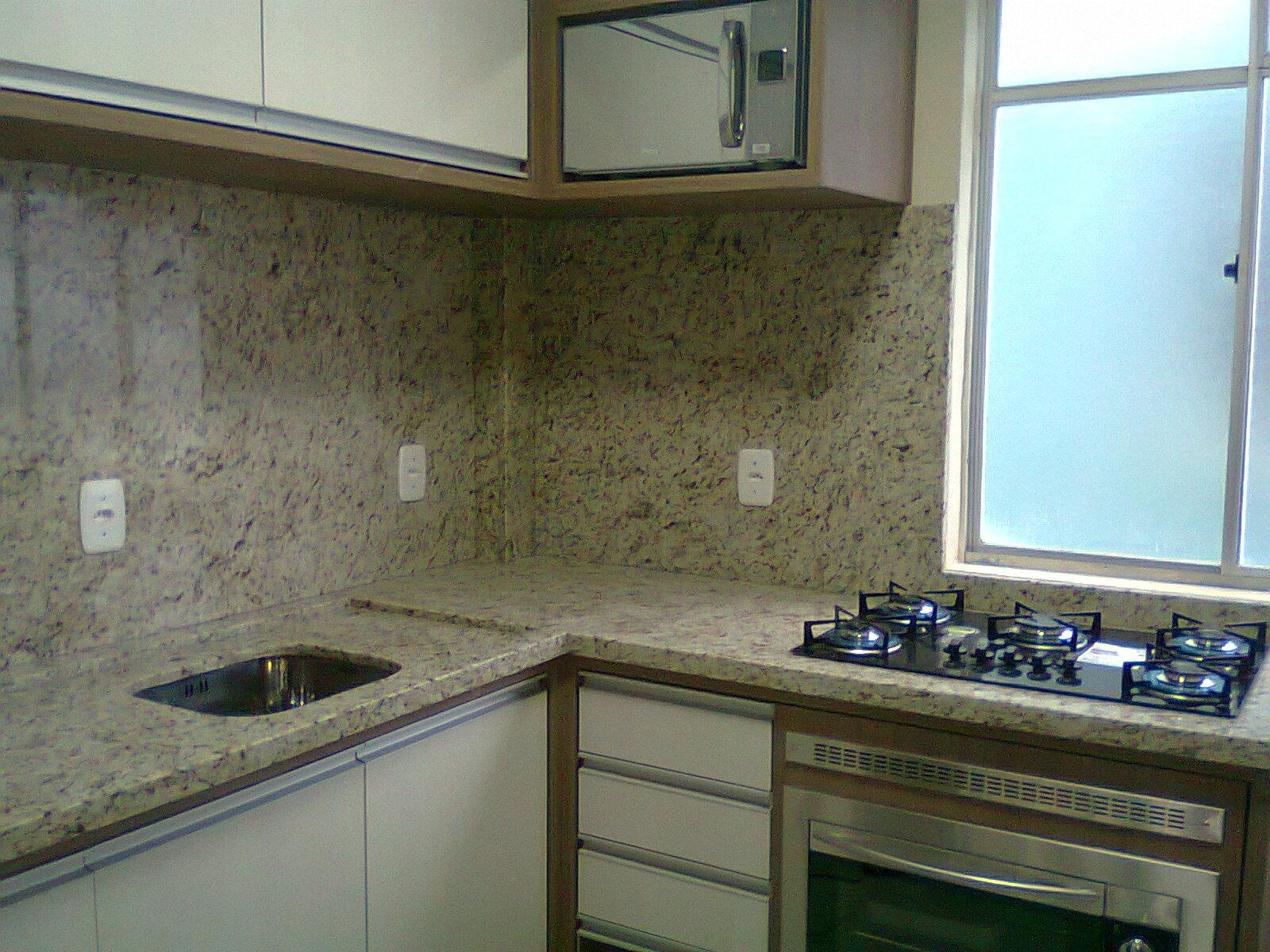 cozinha americana com bancada de granito #3F878C 1600 1200
