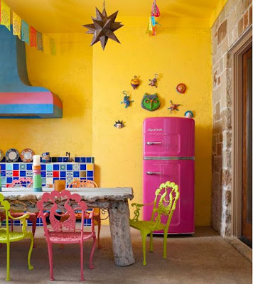Decora tu hogar con neveras de colores (I)