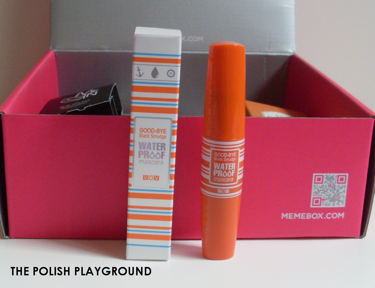 Memebox Global #14 Unboxing - VOV Good-Bye Black Smudge Waterproof Mascara in 02 Volume Proof