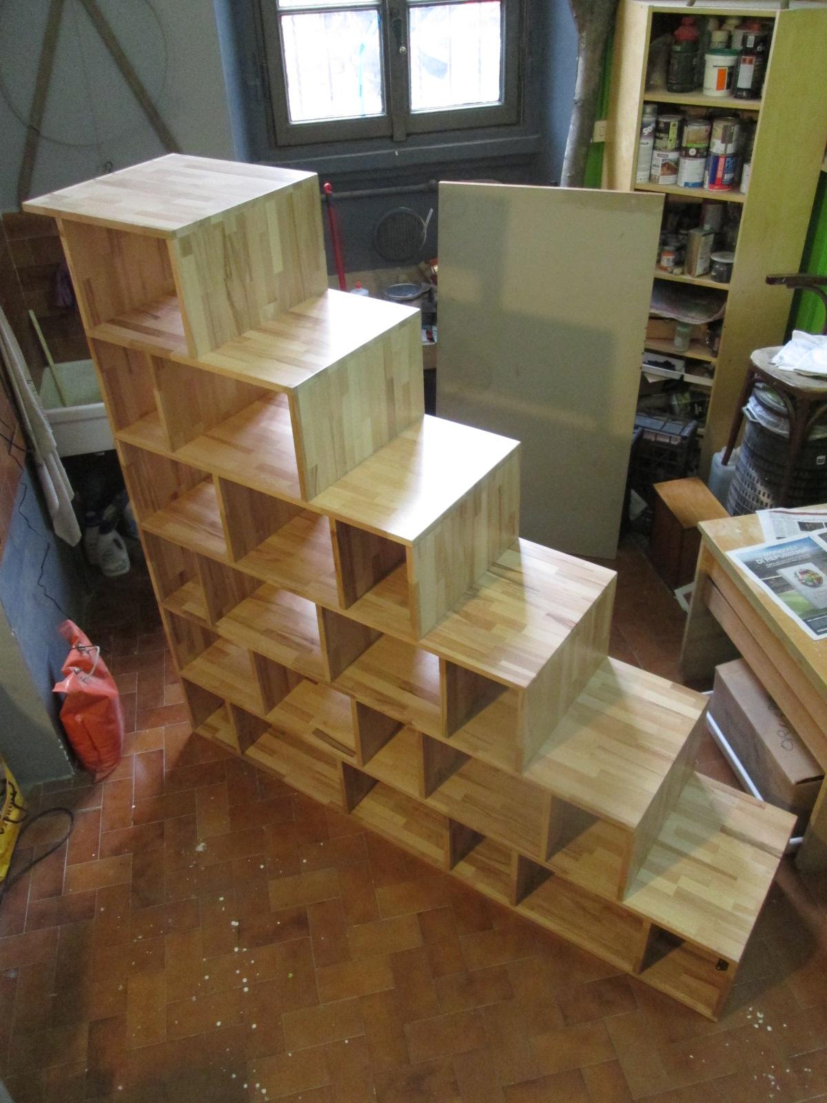 Libreria creativo Scala : Bene, ora si tratta di smontare, trasportare il tutto a moduli nella ...