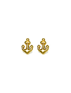 The Limited anchor earrings