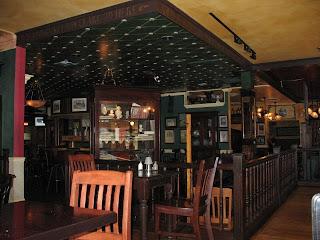 enterior of the pub